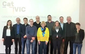 CatVIC Kick-off meeting at Roches-Roussillon Chemical Platform, France